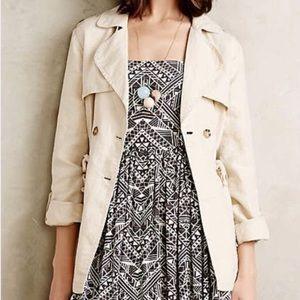 SANCTUARY Sera linen trench coat